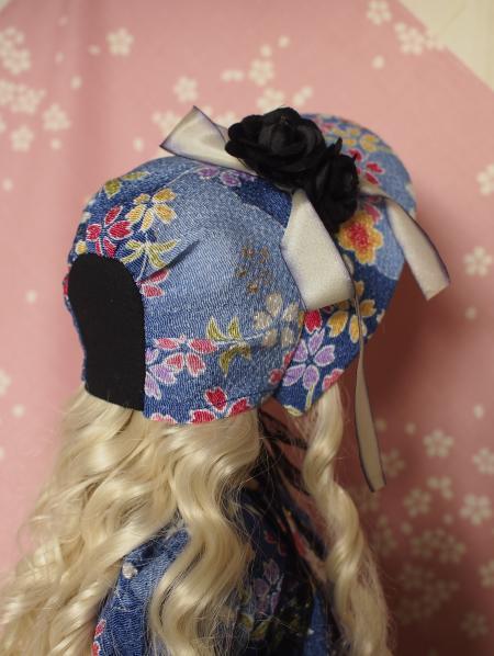 文化人形ドレス 4-10