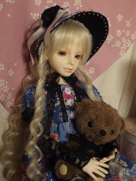 文化人形ドレス 4-11