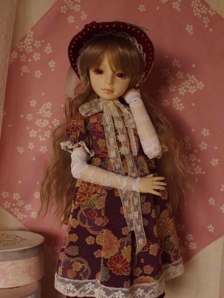 文化人形ドレス 5-1