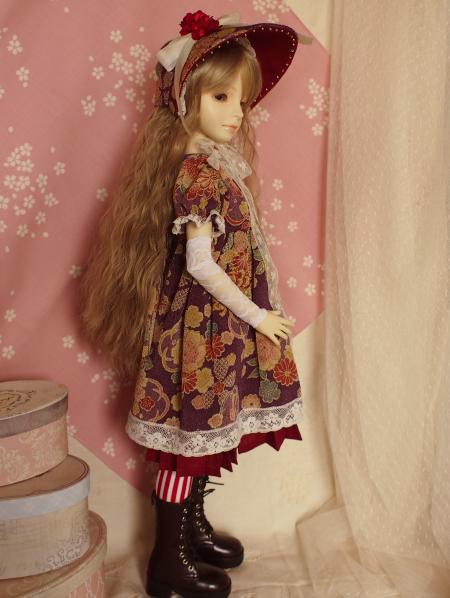 文化人形ドレス 5-2