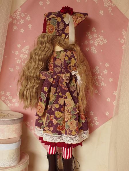 文化人形ドレス 5-3