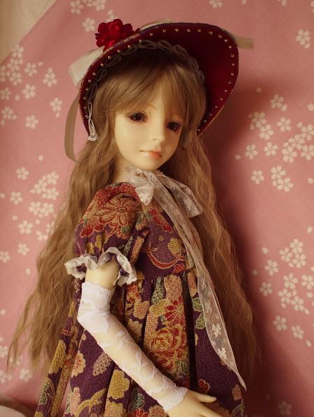文化人形ドレス 5-4