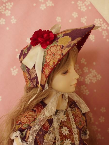 文化人形ドレス 5-6