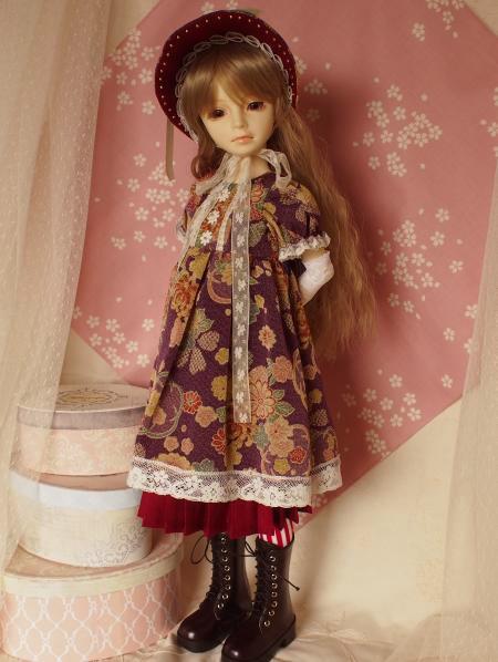 文化人形ドレス 5-8