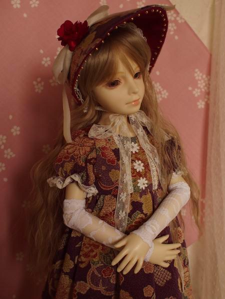 文化人形ドレス 5-10