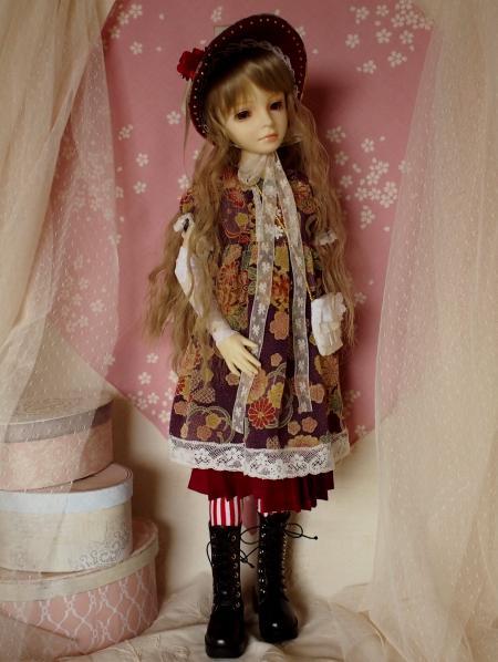 文化人形ドレス バッグ 5