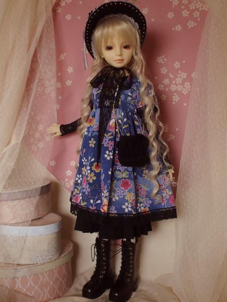 文化人形ドレス バッグ 4