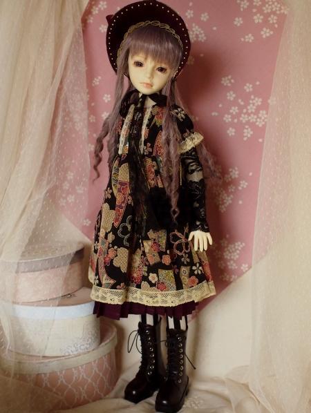 文化人形ドレス バッグ 1