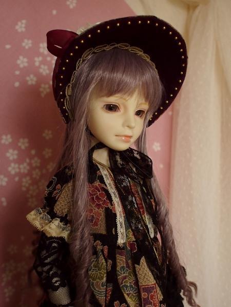 文化人形ドレス 1-9