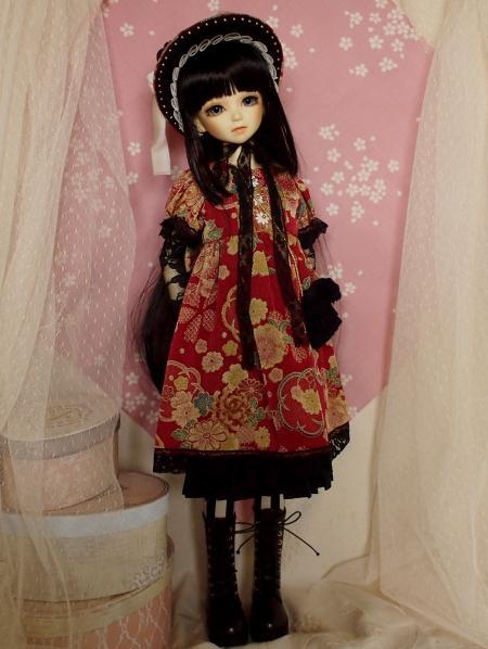 文化人形ドレス バッグ 3