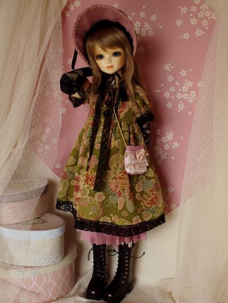 文化人形ドレス バッグ 2