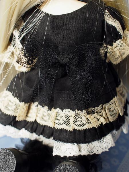 幼SD 子うさぎドレス 黒 5