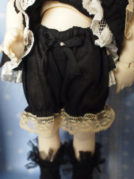 幼SD 子うさぎドレス 黒 7