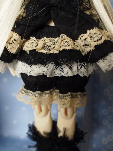 幼SD 子うさぎドレス 黒 9