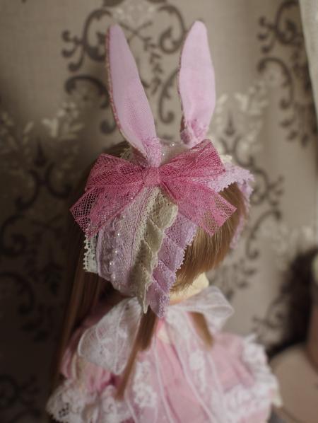幼SD 子うさぎドレス ピンク 4