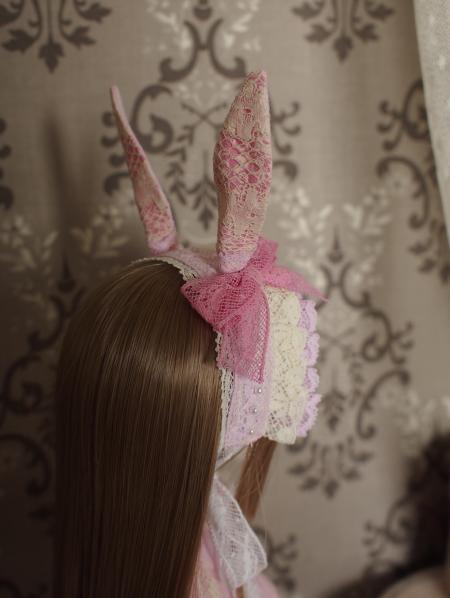 幼SD 子うさぎドレス ピンク 5