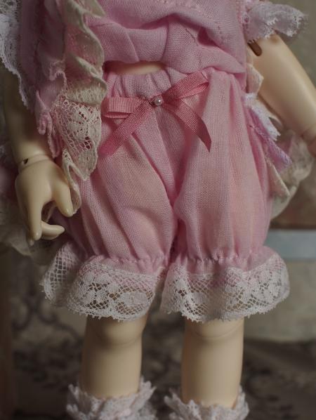 幼SD 子うさぎドレス ピンク 8