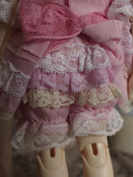 幼SD 子うさぎドレス ピンク 9