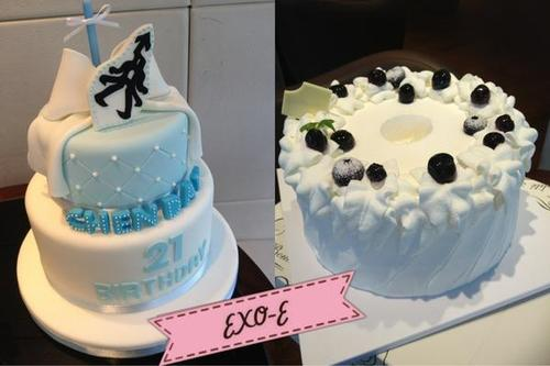 Exo Th's Birthday Cake For Baekhyun Credit Th Picture