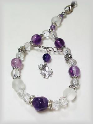 ストラップ 紫