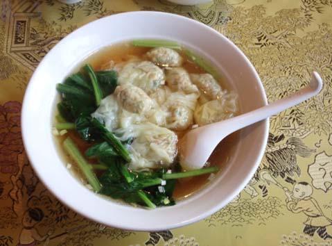 20131217 紅龍閣 ワンタン麺 169㎜ 12060001