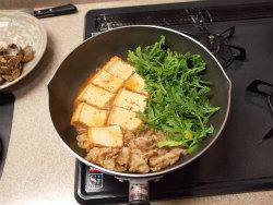 あさりと厚揚げのピリ辛煮12