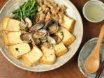 あさりと厚揚げのピリ辛煮21