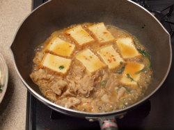 あさりと厚揚げのピリ辛煮15