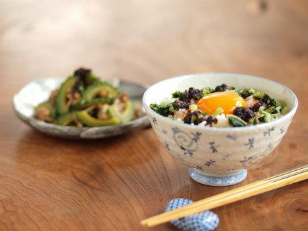 海苔ラー油野沢菜卵かけ飯06