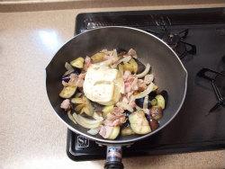 なす豚のカレー風味炒め11