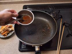 ピリ辛生姜焼き15