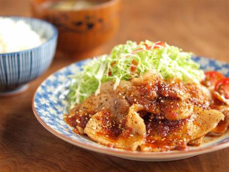 ピリ辛生姜焼き1m02