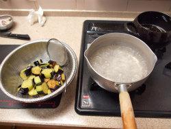 茄子とイカのふくめ煮09