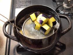 茄子とイカのふくめ煮07