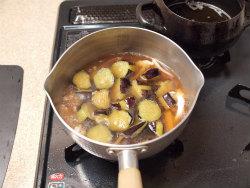 茄子とイカのふくめ煮17