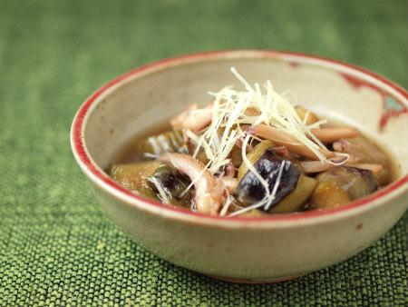 茄子とイカのふくめ煮29