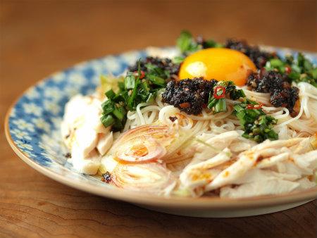 海苔ラー油ニラ素麺55