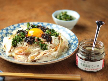 海苔ラー油ニラ素麺42