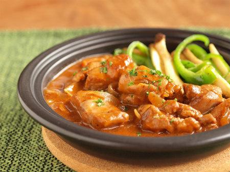 鶏デミグラスソース煮44