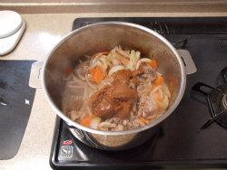鶏デミグラスソース煮14