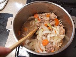 鶏デミグラスソース煮12