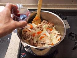 鶏デミグラスソース煮11