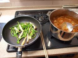 鶏デミグラスソース煮22