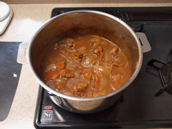 鶏デミグラスソース煮18