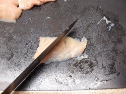 鶏胸水晶のめかぶ和え03