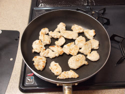 鶏キムチ炒め04
