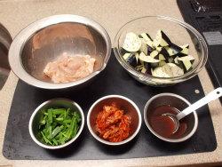 鶏キムチ炒め02