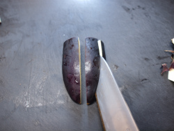 茄子キムチ冷やし中華13
