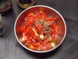 香りソルトトマトドレ蒸しなす07