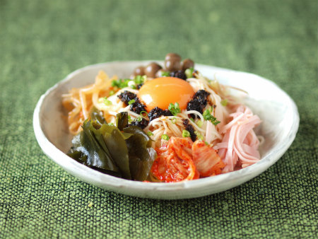 海苔ラー油で七夕素麺03